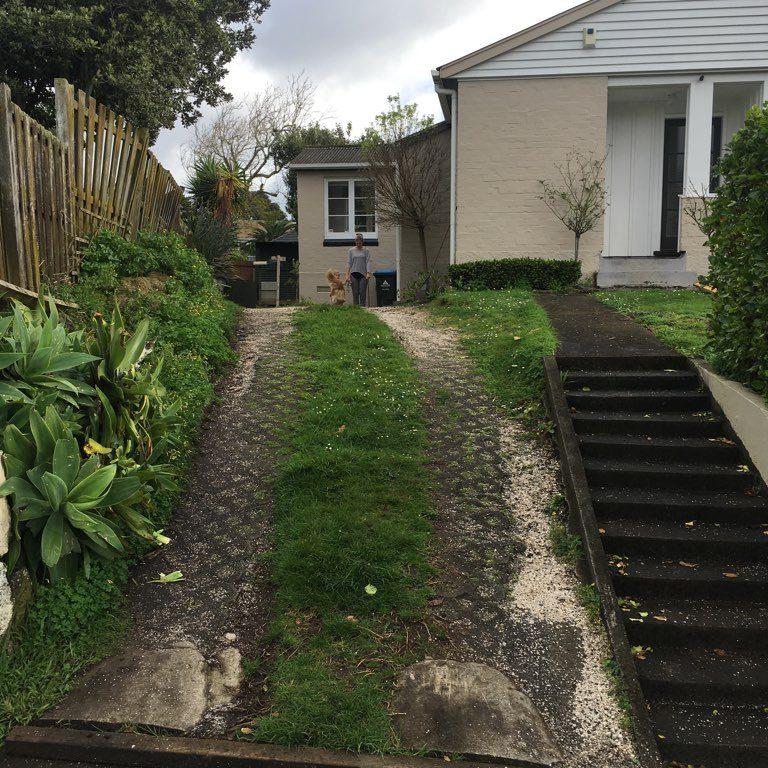 driveway - one tree hill